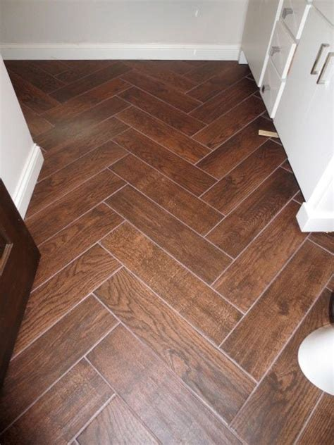 17 best ideas about wood tile bathrooms on