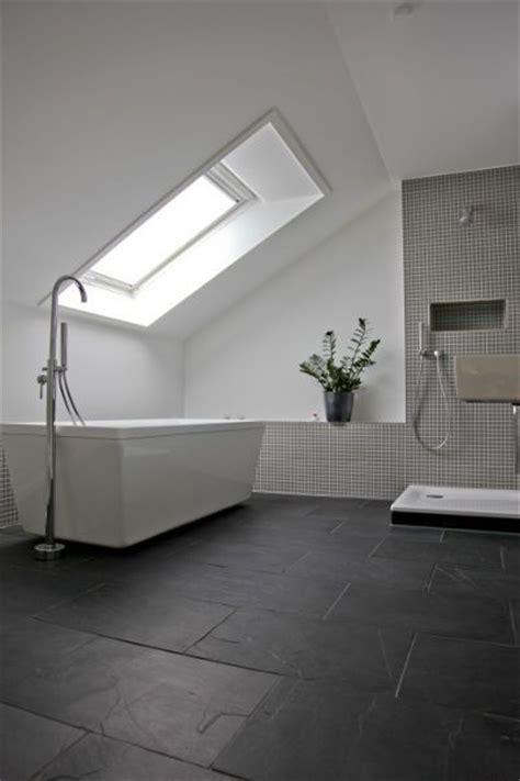 Badezimmer Fliesen Schiefer by Bad Schiefer Fliesen 2 Badezimmer Loft Bathroom