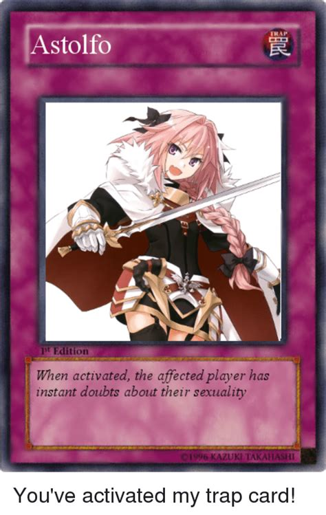 Trap Card Memes - 25 best memes about youve activated my trap card youve activated my trap card memes