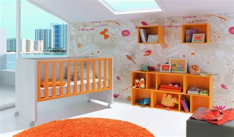 deco chambre orange deco chambre fille orange visuel 2