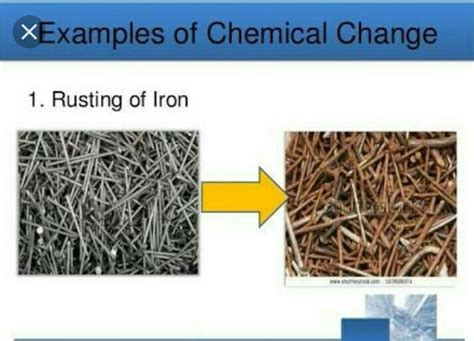 iron change chemical rusting why rust formation process question