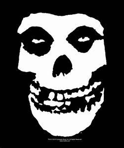 Misfits Fiend Skull Sticker