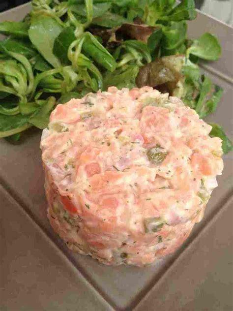 et sa cuisine legere tartare de saumon léger et sa cuisine gourmande