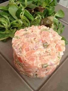 tartare de saumon leger rachel cuisine With cuisine de rachel