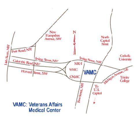 street detail map washington dc va medical center