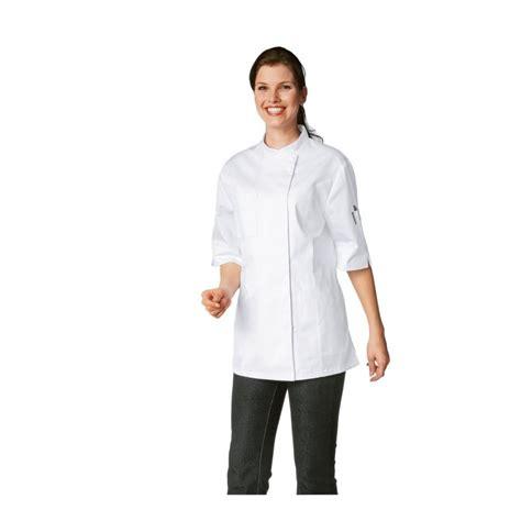 femme en cuisine veste de cuisine femme manches courtes bragard verana
