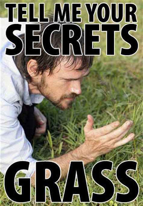 Turf Meme - tell me your secrets grass know your meme