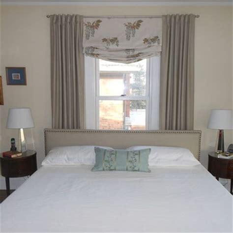 ideas for bedrooms bed in front of window ideas bedroom
