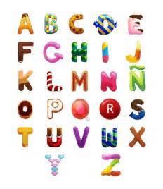 ABC Alphabet Candy Letters