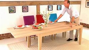 Large Extendable Table - YouTube