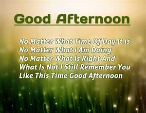 Good Afternoon Messages, Quotes, Wishes, Images | NewsRead.in