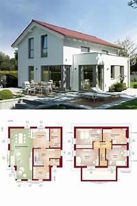 Erker Anbauen Beispiele : einfamilienhaus klassisch mit satteldach und erker anbau ~ Lizthompson.info Haus und Dekorationen