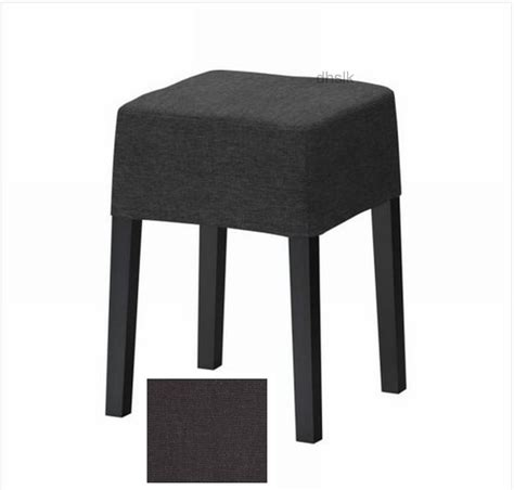 Ikea Nils Dining Chair Covers by Ikea Nils Footstool Slipcover Cover Sivik Gray Grey