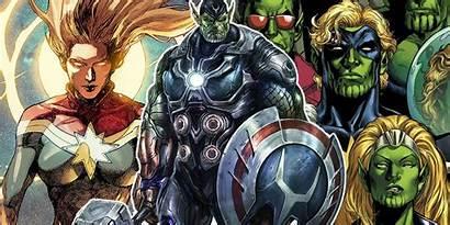 Marvel Skrulls Invasion Captain Secret Avengers War
