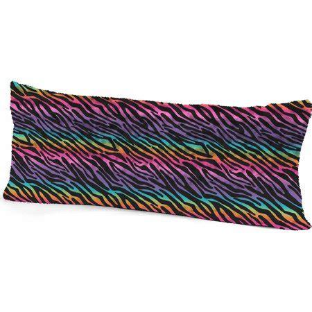 walmart my pillow your zone rainbow zebra pillow walmart