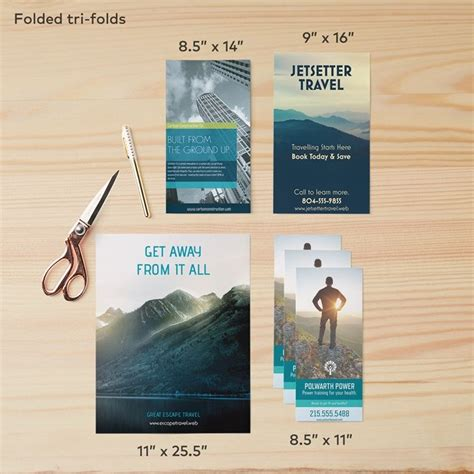Accordion Fold Brochures 11x17 Digital Print And Signs Custom Brochure Printing Vistaprint