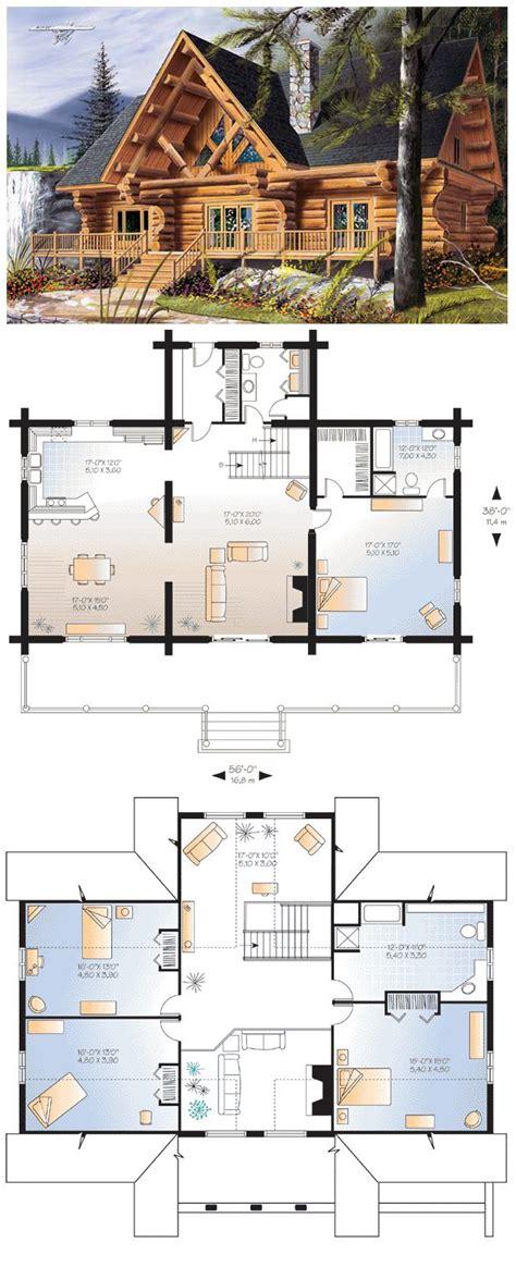 log cabin floor plans   master suites  log