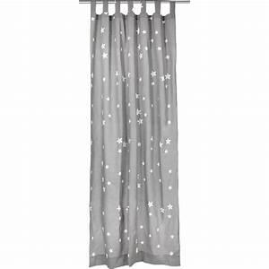 Vorhang Babyzimmer Junge : vorhang sterne grau wei 140 x 245 cm mytoys r ume ~ Buech-reservation.com Haus und Dekorationen
