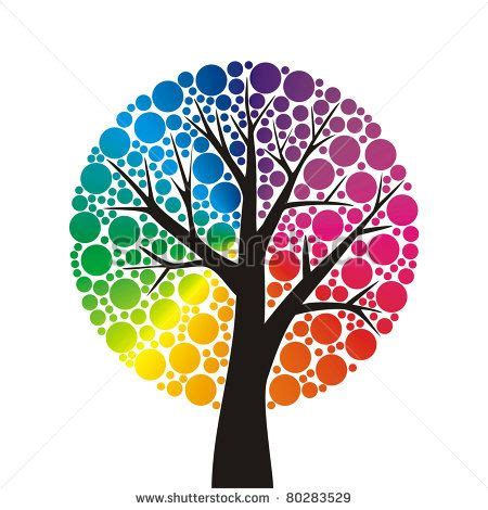 color wheel tree tree color wheel search draw paint