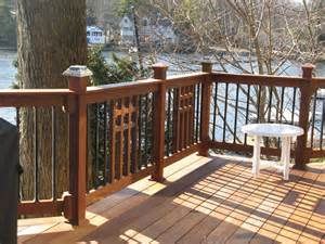 Craftsman Style Deck Railing Ideas