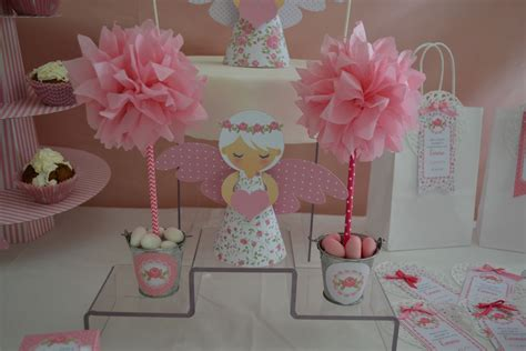 decoration pour table ou candy bar arbre rose en papier
