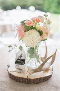 Wedding Centerpieces with Antlers