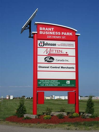 Signs Pylon Sign Company Brooks Brant