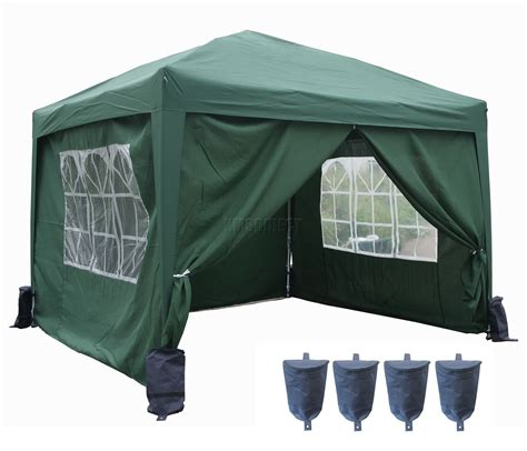 marque canap 3m x 3m pop up gazebo waterproof canopy awning marquee