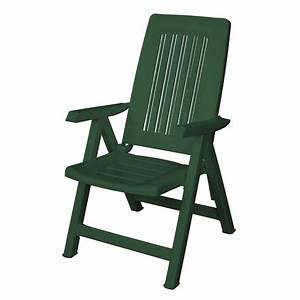Chaise Salon De Jardin Pas Cher : fauteuil de jardin pliante en pvc blanc ~ Teatrodelosmanantiales.com Idées de Décoration