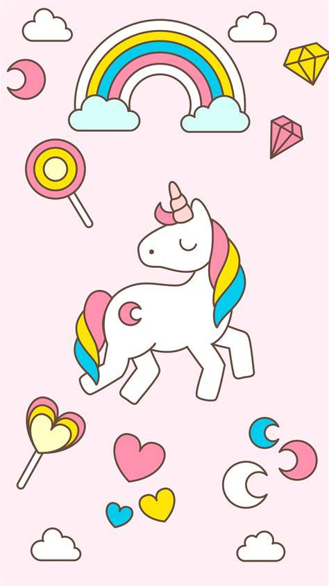 hd cute unicorn iphone wallpaper