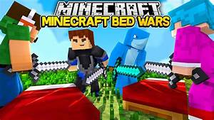 Minecraft BED WARS SHARKYS FIRST GAME YouTube