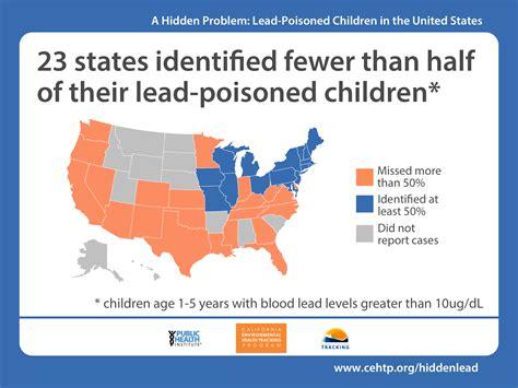 hidden problem lead poisoned children   united