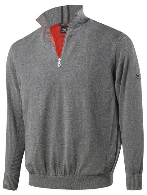 mizuno windlite zip neck flex sweater 250164 discount