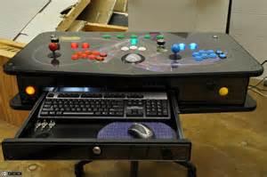 Mario Bros Arcade Cabinet by Plasmafire Org Portable Mame Control Panel