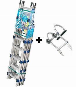 Echelle De Toit : pack klip o 250mm chelle de toit aluminium crochet de ~ Edinachiropracticcenter.com Idées de Décoration