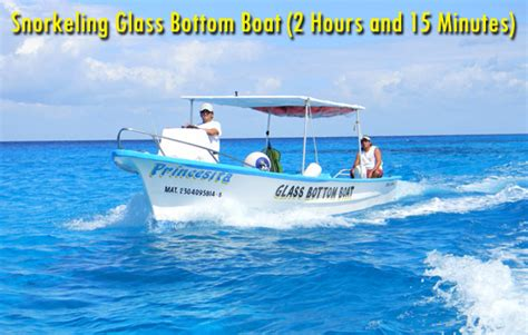 Glass Bottom Boat Tours Antigua by Safe Tours Riviera Snorkel Glass Bottom Boat Cielo
