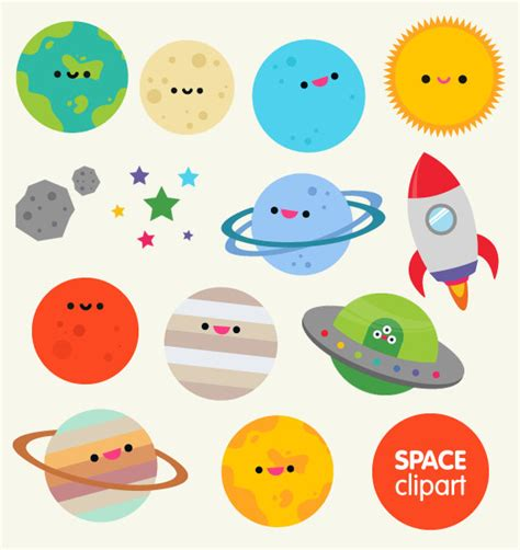 Planets Clipart Best Planet Clipart 19914 Clipartion