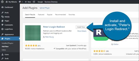 How To Redirect Users In Wordpress After A Successful
