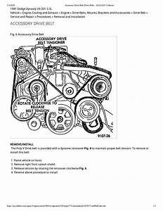 New Serpentine Belt Installation  How Do You Put On A New