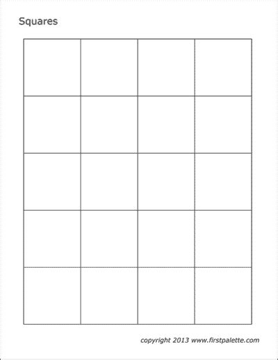 printable shapes page   printable templates