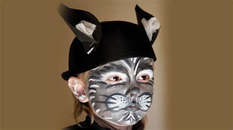 Idea Para Maquillaje De Gatos Para Niños Para Disfraz