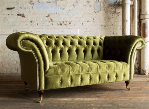 green chesterfield sofa green chesterfield sofa geneva green velvet 2 seater