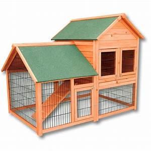 Cabane Pour Poule : poulailler clapier cage pour poule ou lapin en bois achat vente poulailler poulailler ~ Melissatoandfro.com Idées de Décoration