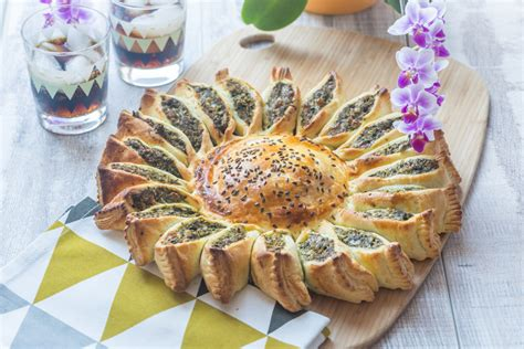 recettes cuisine japonaise tarte soleil epinard poulet fromage cuisine addict