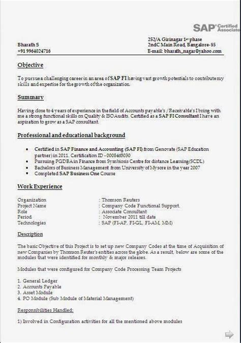 Pm Resume Sle by 8 Years Experience 3 Resume Format Sle Resume