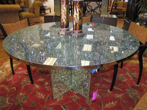 crackle glass table l crackle glass table top google search dining