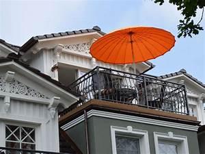 ferienwohnung les belles romantique fischland darss With französischer balkon mit luxus sonnenschirm