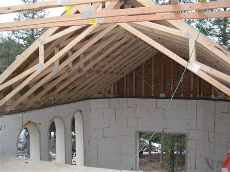 Insulating Cathedral Ceilings With Spray Foam by Exposed Scissor Truss Vaulted Ceiling Industrial Design