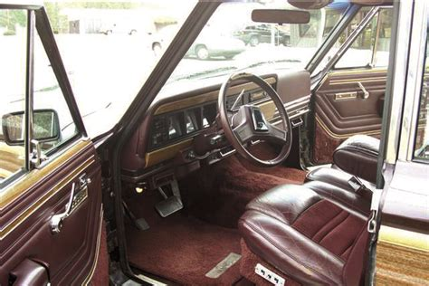 1991 jeep wagoneer interior vwvortex com red leather interiors show me them