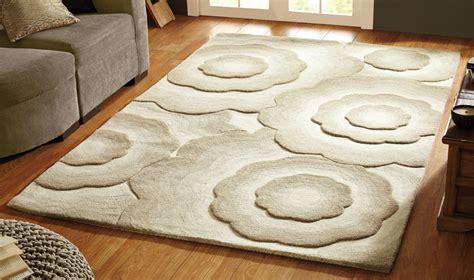 tapis salon beige pas cher